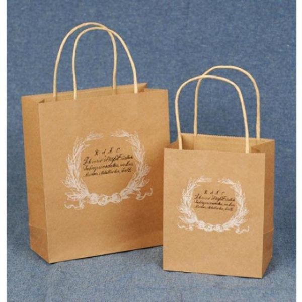 크라프트지 쇼핑백(대) 3P 선물백/종이 선물백/종이 상품이미지