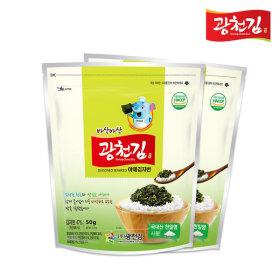 바삭바삭 광천 야채 김자반 50g X 5봉(낱봉)