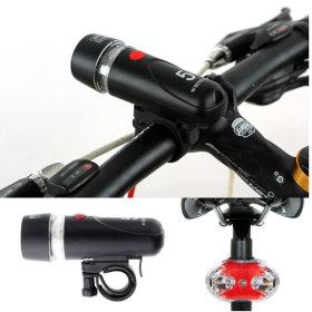 자전거 LED 라이트 전조등 후레쉬 후미등 /LED 5구세트