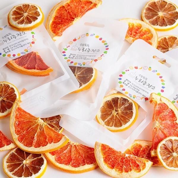 간편한 수분충전 건조과일 건조칩(레몬 자몽 오렌지 사과 배 외~ 상품이미지