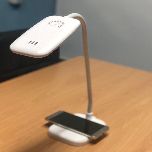 드림네트워크 LED스탠드 핸드폰무선충전 상품이미지