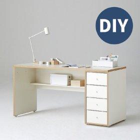 샘 책상 150cm 하부서랍형 DIY