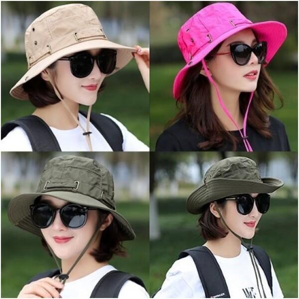 (현대Hmall)여성용 아웃도어 패션 모자 사파리햇 등산 캠핑 낚시 상품이미지