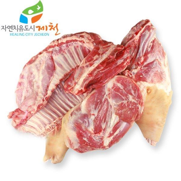 충북제천 자연방목 토종 흑염소고기(한마리40근-24kg) 상품이미지
