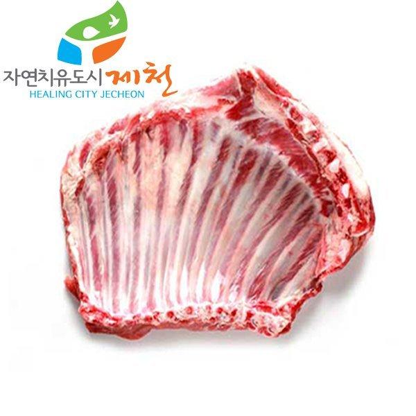 충북제천 자연방목 토종 흑염소고기 갈비 2kg 상품이미지