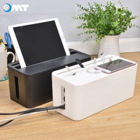 OMT 멀티탭정리함 핸드폰 태블릿거치 M-STORAGE 화이트