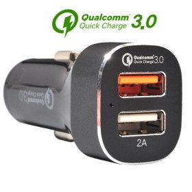 2포트 차량용 퀵차지3.0 고속충전기 9V 12V QC-CAR900