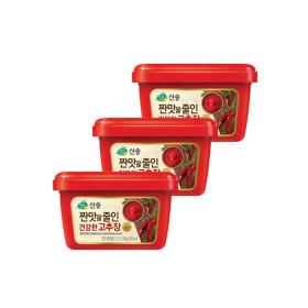 짠맛줄인 건강한 고추장  500g3팩/2세트구매시다시증정