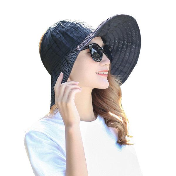 (정품) 롤업 프라햇/돌돌이 여성 썬캡 모자/여름 비치 상품이미지