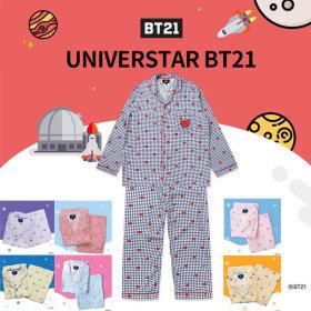 HUNT x BT21 Check Pajama  HIPP91101T sleepwear