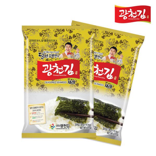 달인 김병만의 광천김 재래전장김 20봉(1BOX) 상품이미지
