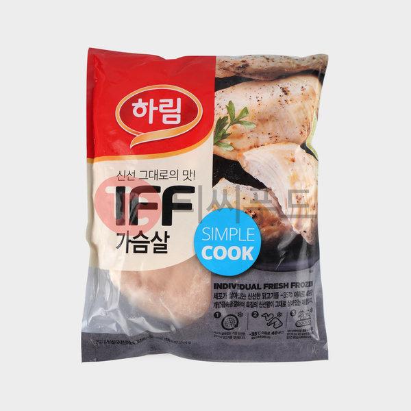 국내산 하림 IFF 냉동가슴살 10Kg (1Kg x 10봉) 상품이미지