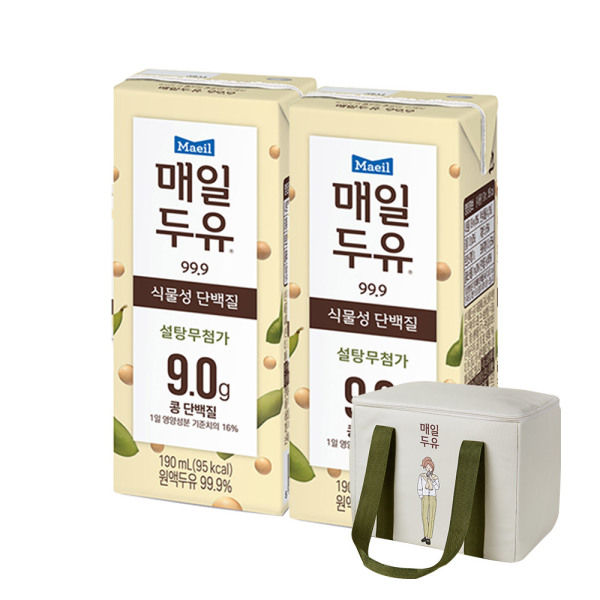 매일두유 99.89 190ml 48팩/두유 상품이미지