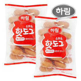 하림 스위트핫도그 1000g 2봉 /1봉 50g 20개/총 40개