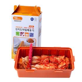 컷앤컷 김치도마밀폐용기 에코락 2.6L/자르미칼 항균락