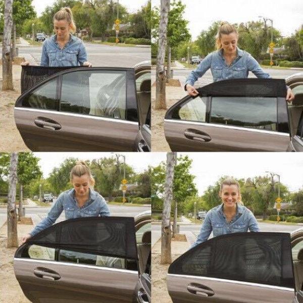 (M사이즈) 바람솔솔 차량용 햇빛가리개/자동차 커튼 2P 상품이미지