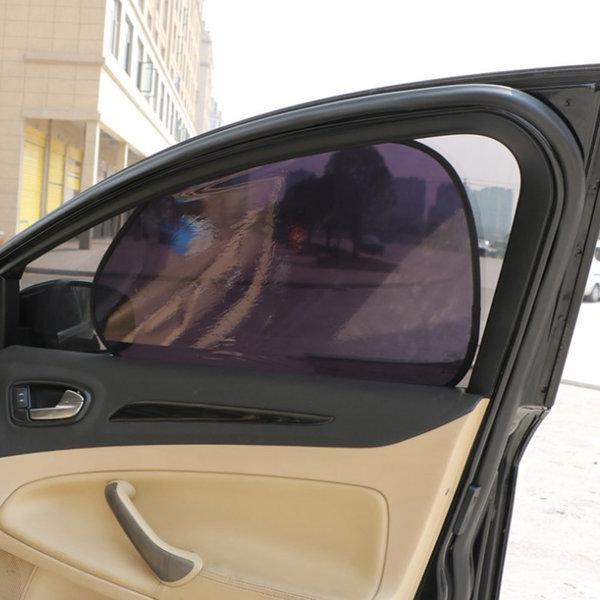(앞좌석)찰거머리 햇빛가리개/차량용 자동차 암막커튼 상품이미지