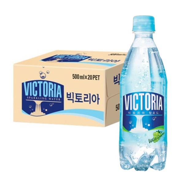 빅토리아 탄산음료 청포도향 500ml x 20개입 상품이미지