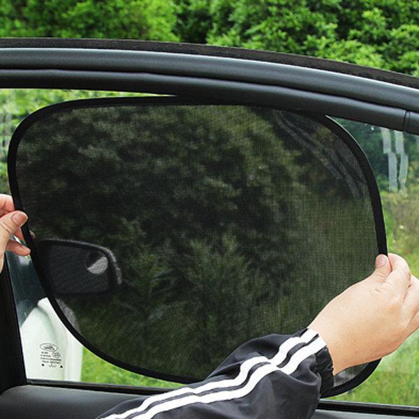 (사각형)찰거머리 햇빛가리개/차량용 자동차 암막커튼 상품이미지