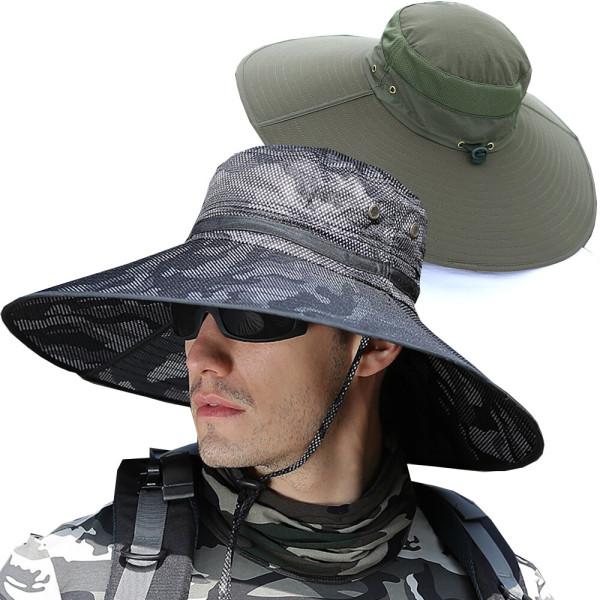 큰챙 벙거지모자/햇빛가리개 등산모자/정글 낚시 캠핑 상품이미지