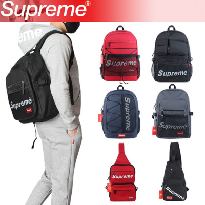 Supreme/supreme/Unisex/Backpack/Messenger Bag/6Types