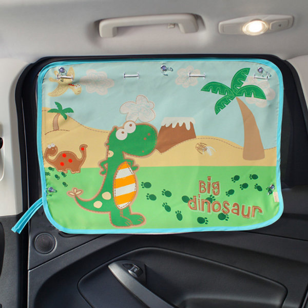 (공룡) 유아 커튼 햇빛가리개/차량용/자동차/카 상품이미지