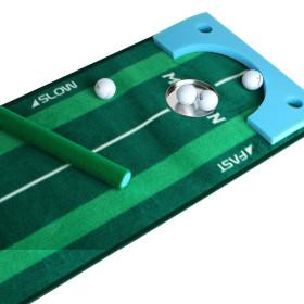(디자인등록 퍼팅매트-MAXiON)골프 연습용/40x440cm홀