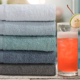Hotel Towel Non-fluorescent 175g Towel 10pcs Towel Set Shower Towel
