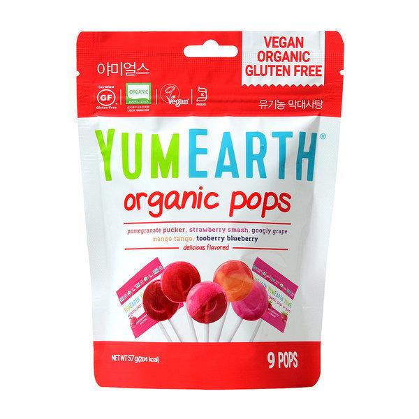 야미얼스 유기농 막대사탕 파우치팩 57g 상품이미지