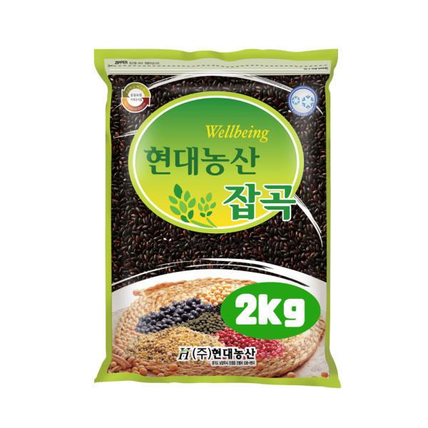 흑미 2kg /검정쌀 상품이미지