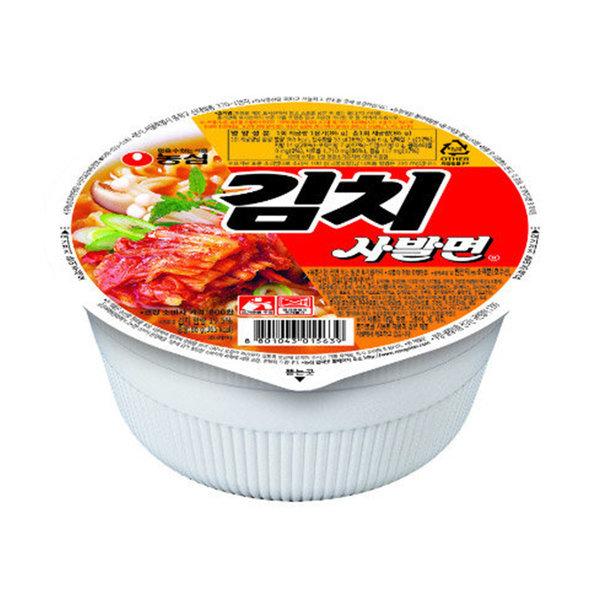 김치사발면 24개입 농심/컵라면/사발면 상품이미지