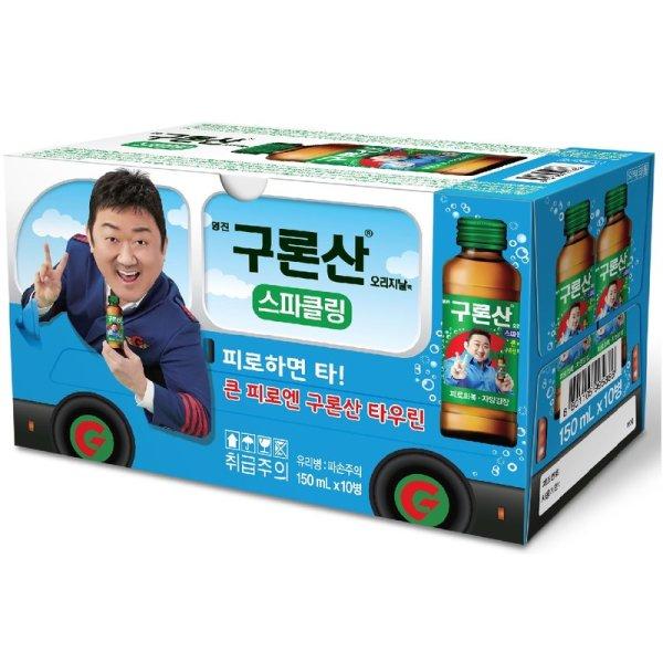 (1+1)해태음료 구론산바몬드스파클링 150MLx10 상품이미지
