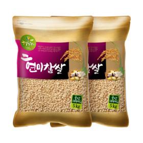 국산 현미찹쌀 10kg/찹쌀현미 /(5kgX2)