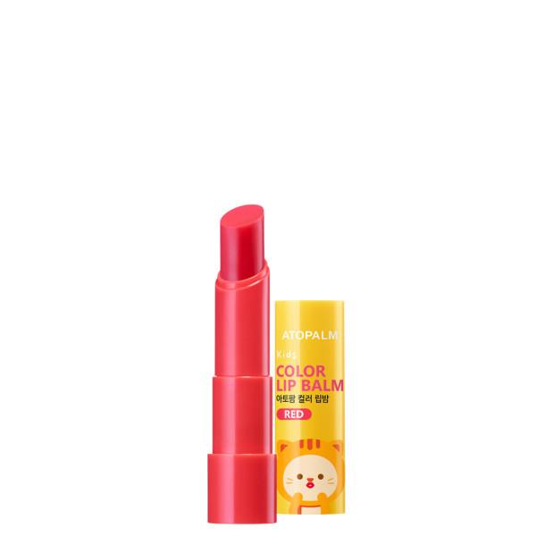 아토팜 키즈 컬러 립밤 레드 3.3g (키즈샘플3매) 상품이미지