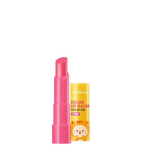 아토팜 키즈 컬러 립밤 핑크 3.3g (키즈샘플3매) 상품이미지