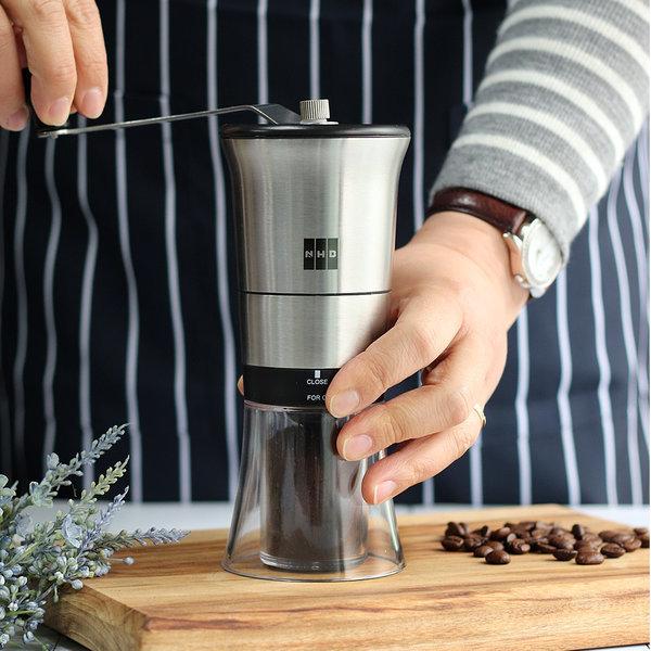 NHB 수동 커피그라인더 핸드밀 원두커피분쇄기 분쇄기 상품이미지