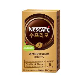 네스카페 수프리모 아메리카노 1.1g 100T+사은품
