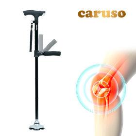 카루소 C830 S 노인지팡이 효도 접이식 네발 지팡이