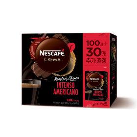네스카페 크레마 인텐소 아메리카노 미니 100T+30T