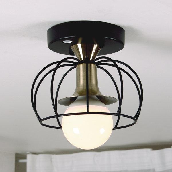크라운 망 센서등 LED볼전구 포함 현관등 조명 상품이미지