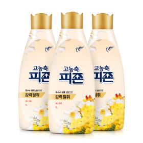 고농축 섬유유연제 리치퍼퓸 옐로1Lx3개