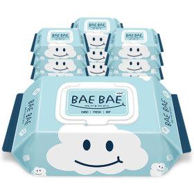 BAEBAE(베베) 아기물티슈 FRESH 60gsm 캡형 80매 10팩