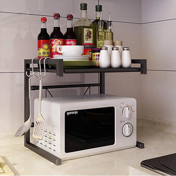 OMT 2단 주방선반 공간활용 수납장 주방용품 OKA-ZM2 상품이미지