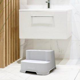 아가드 2단 유아 디딤대 1입 욕실 변기 스텝스툴