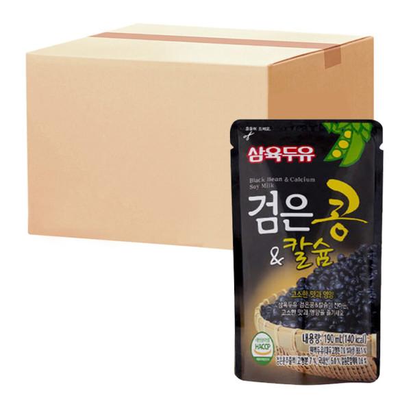 삼육 검은콩앤칼슘 190ml 20팩 상품이미지