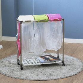 가정용 재활용 분리수거함 스윙3P / 휴지통 쓰레기통