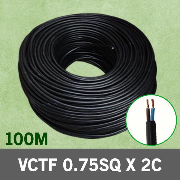VCTF 충진형 0.75SQ 2C 100m  전선 케이블 전기 국산 상품이미지