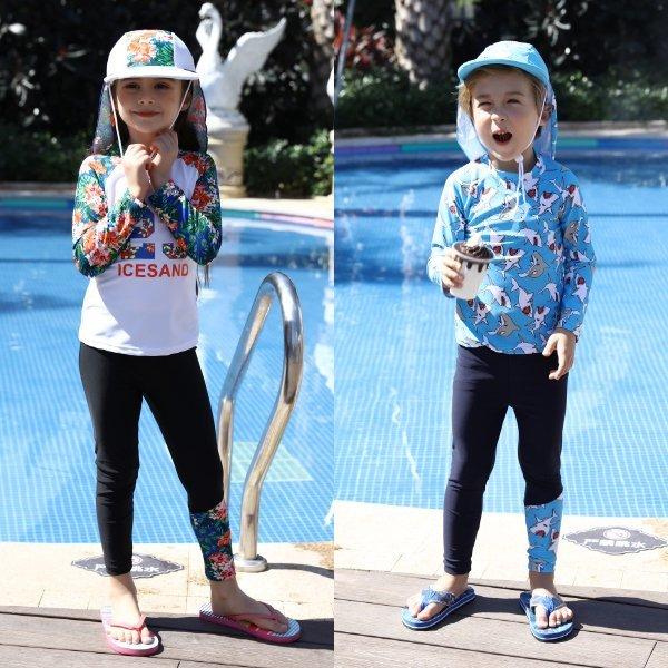 (신세계의정부점)아동 래쉬가드/플랩캡SET 9종 균일특가전 상품이미지