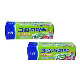 크린랲 크린이중지퍼백(소형/18cm20cm) 20매