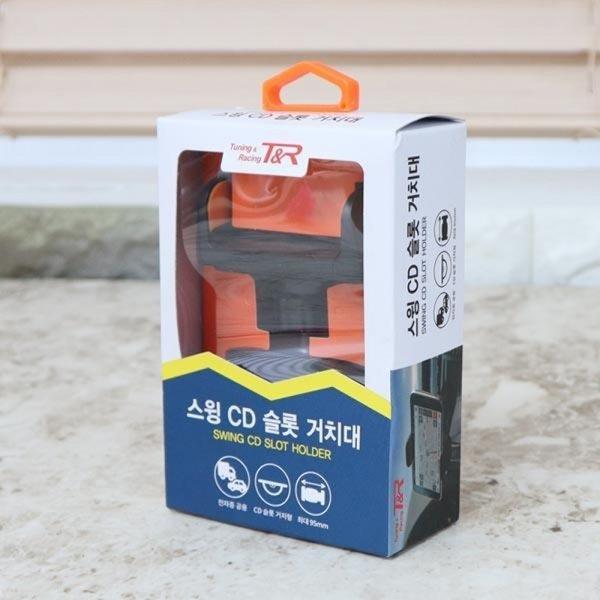 핸드폰거치대 자동차용품 차량용거치대 CD슬롯 티엔알 상품이미지